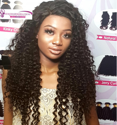 Argentine Curls Full Frontal Wig, Full Front Wig