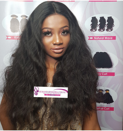 Rose Wavy  Human Hair Lace Wig