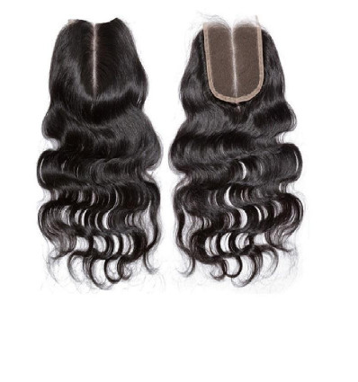 Human Hair Nigeria Middle Part Closure - Body Wave