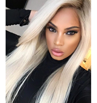 Blonde Straight Virgin Human Hair