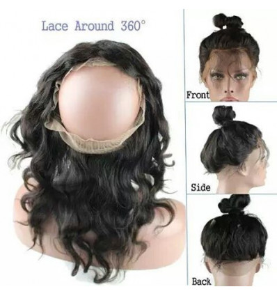 360 (Round) Full Frontal Body Wave