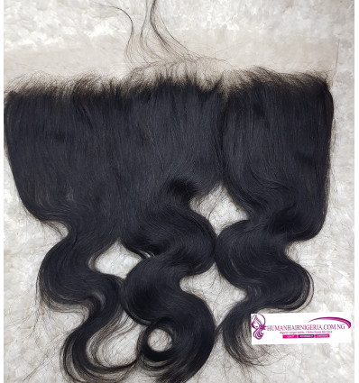 Transparent HD Frontal Body Wave - Wavy HD Frontal Closure
